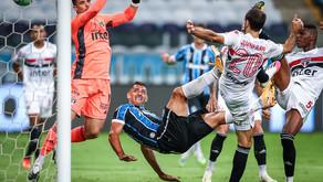 Grêmio com a vantagem, enquanto Palmeiras e América ficam no empate