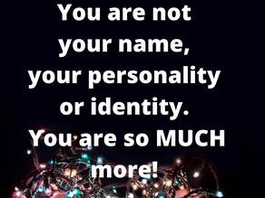 Du är inte ditt namn