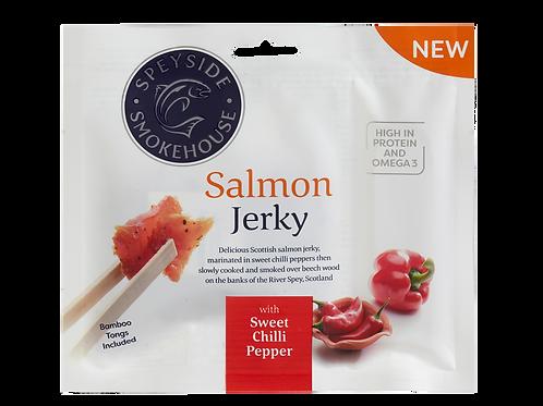 Speyside Salmon Jerky - SWEET CHILLI PEPPER 12 x 30g