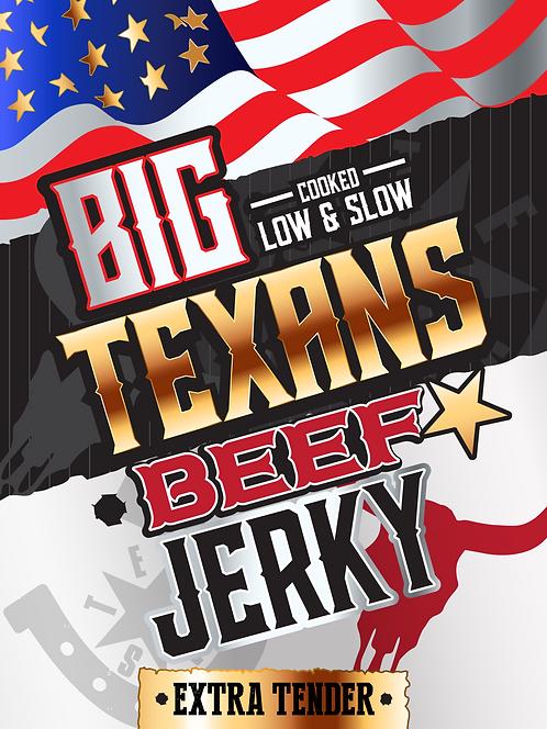 Big Texans Beef Jerky 16x60g