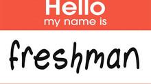 Freshman Orientations 2019-2020