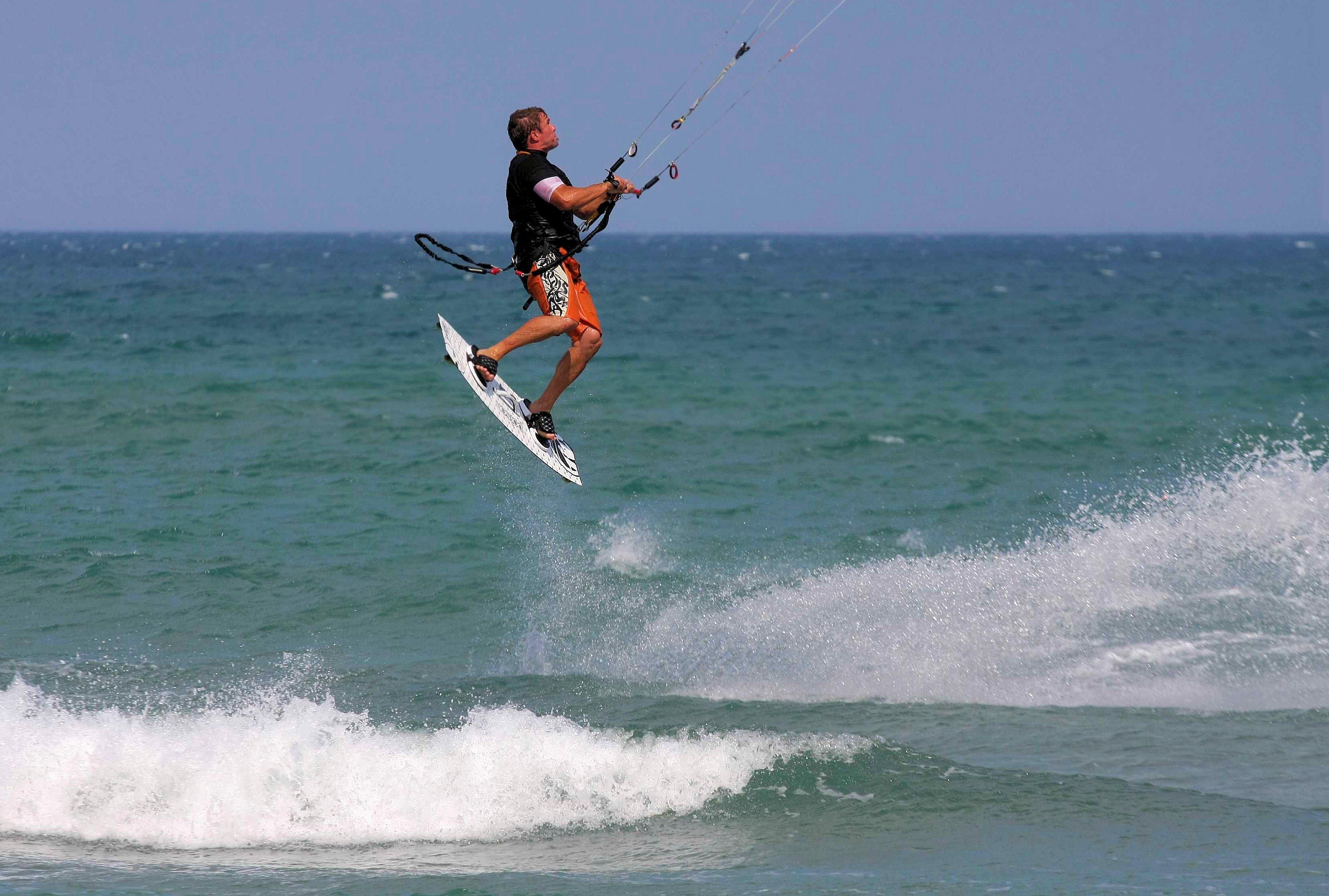 Perfectionnement freeride kitesurf