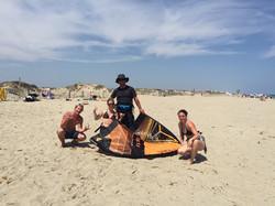 stage de kitesurf
