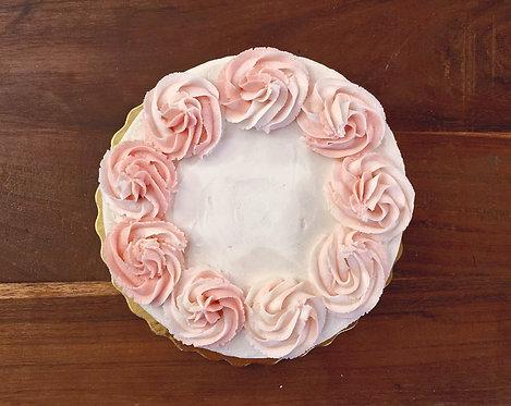 Rosey Rum Cake