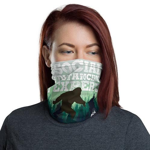 Social Distancing Expert Sasquatch Face Mask