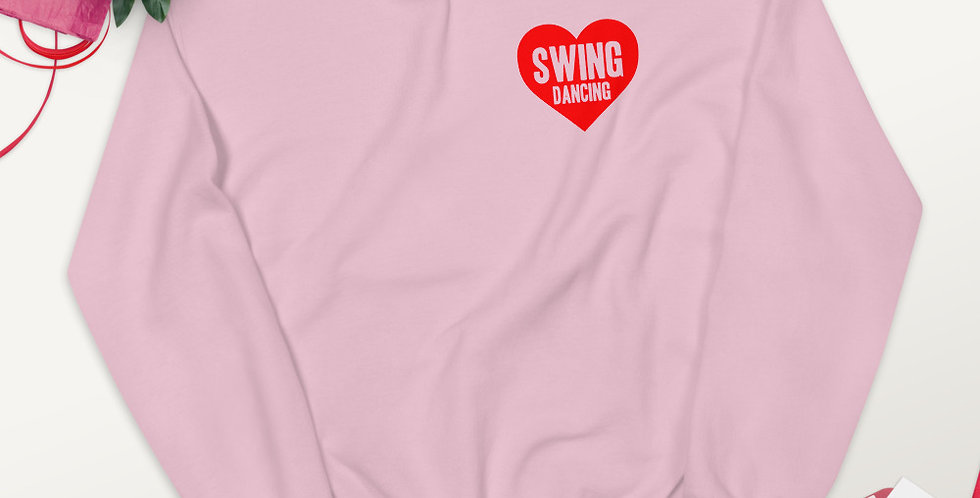 Love Swing Dancing Unisex Sweatshirt