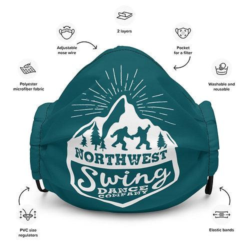 Northwest Swing Dance Co. Premium face mask