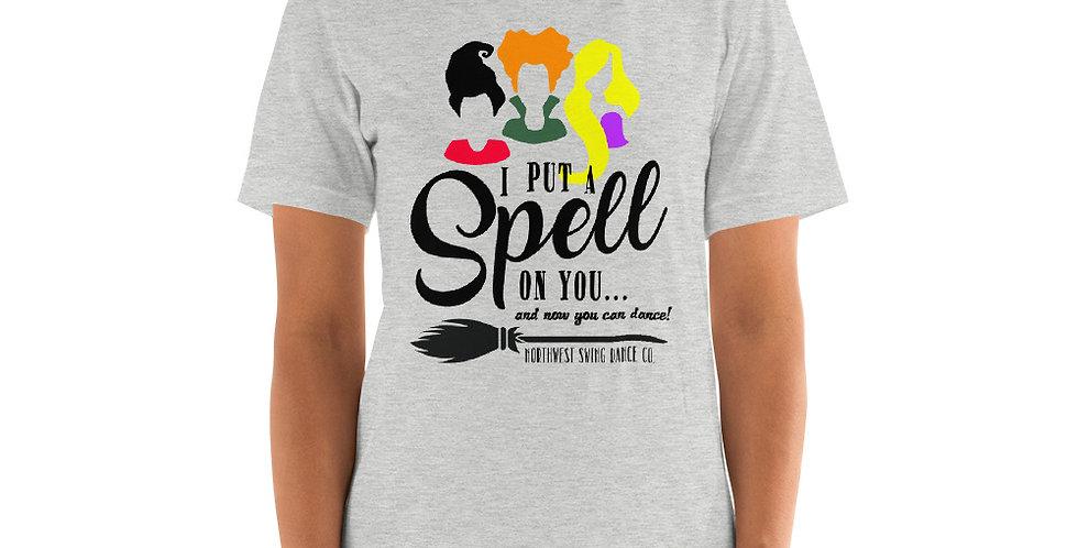 I Put A Spell On You Halloween Short-Sleeve Unisex T-Shirt