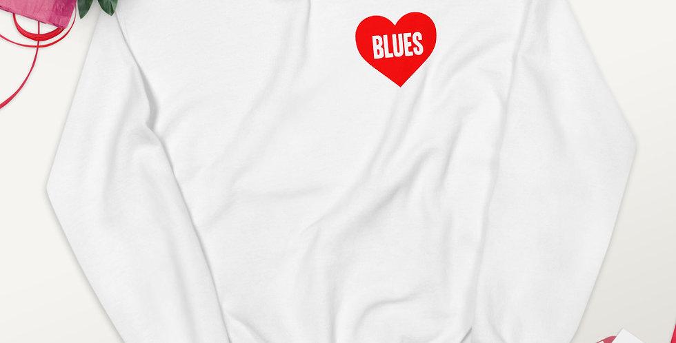 Love Blues Unisex Sweatshirt