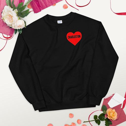 Love Charleston Unisex Sweatshirt