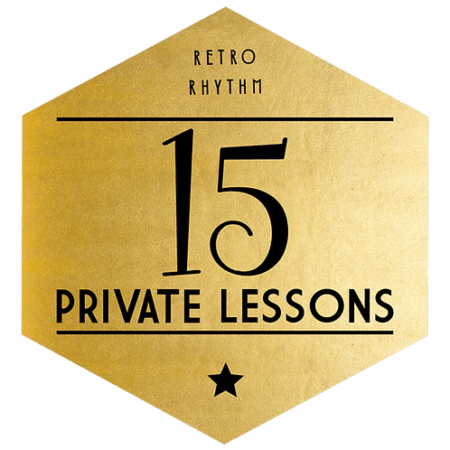 Package of 15 Private Lessons - SAVE $335!
