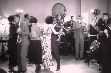 "Cab Calloway film ""Jitterbug Party"""