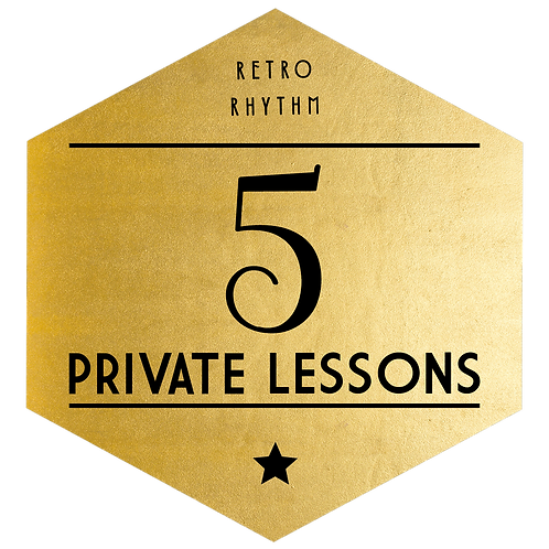 Package of 5 Private Lessons - SAVE $50!