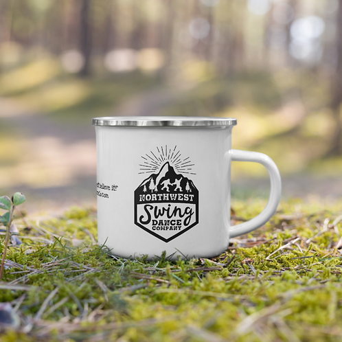 Northwest Swing Dance Co. Enamel Mug