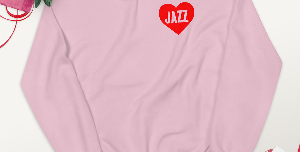 Love Jazz Unisex Sweatshirt