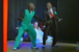Frankie Manning & Chazz Young doing the Shim Sham