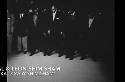 Al Minns & Leon James doing the Shim Sham