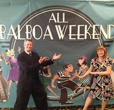 Joel Plys and Valerie Salstrom - All Balboa Weekend