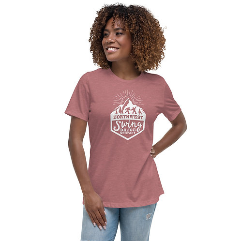 Northwest Swing Dance Co. Logo Women's Relaxed T-Shirt