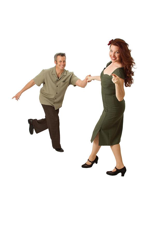 Joel & Jackie Plys - Lindy Hop Swingout