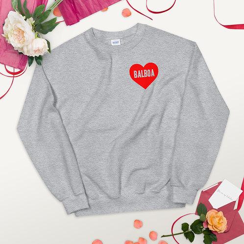 Love Balboa Unisex Sweatshirt