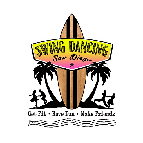 Swing Dancing San Diego Logo