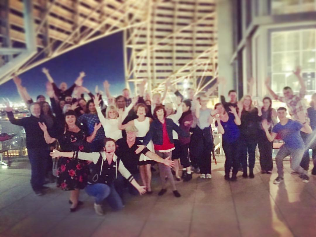 Swing Dance Under The Dome