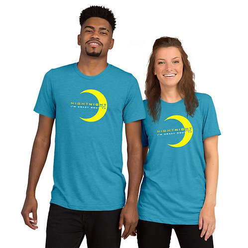 Night Night (Joel Plys Quote) Short sleeve t-shirt
