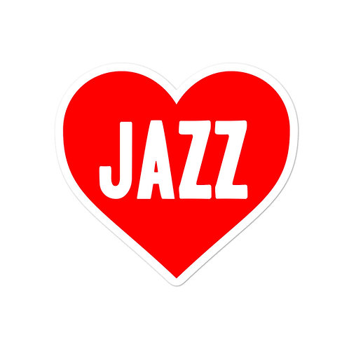 Love Jazz Bubble-free stickers