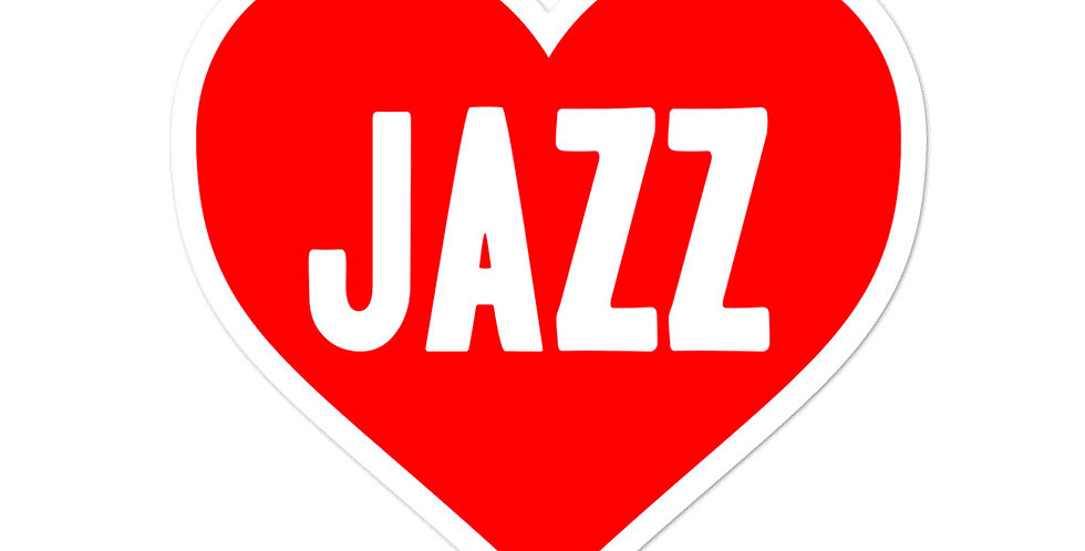 Love Jazz Bubble-free stickers
