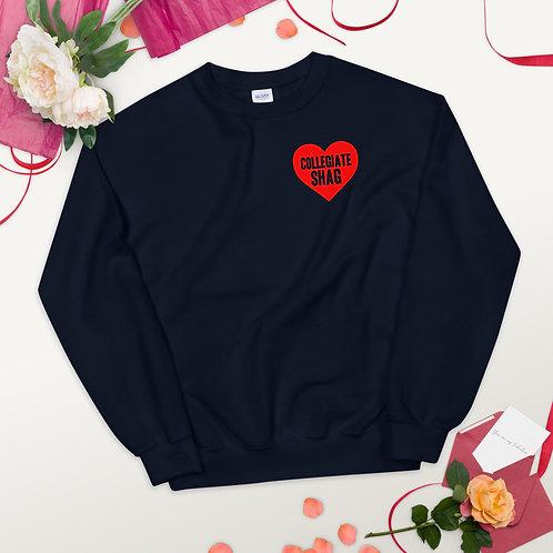 Love Collegiate Shag Unisex Sweatshirt
