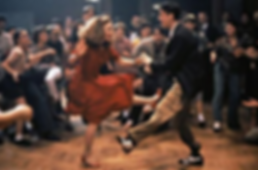 "Dance scene from the movie ""Swing Kids"""