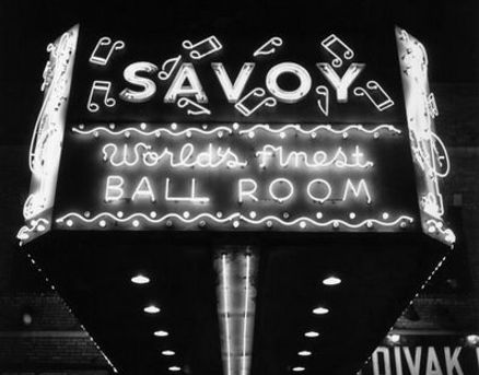 Vintage photo of the Savoy Ballroom