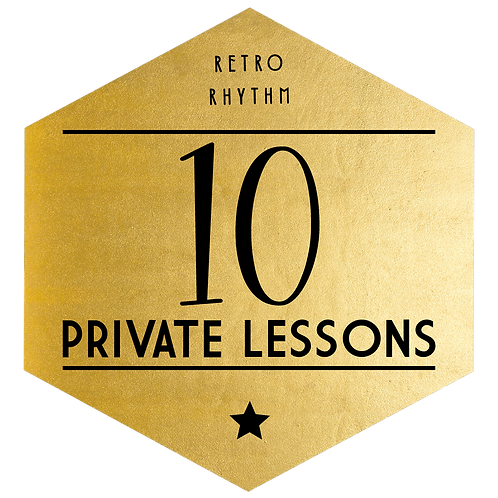 Package of 10 Private Lessons - SAVE $165!