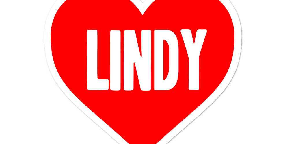 Love Lindy Hop Bubble-free stickers