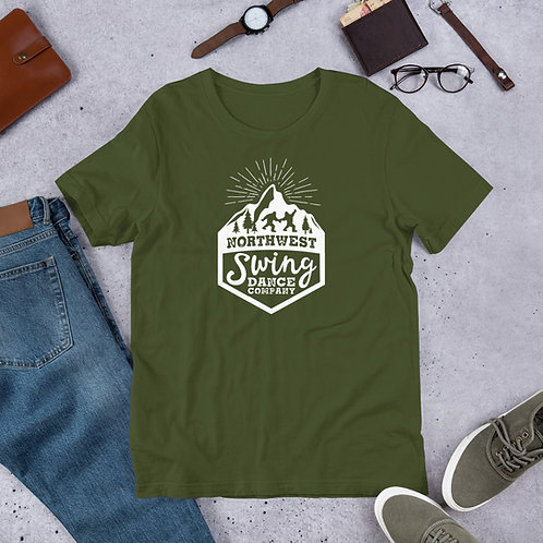 Northwest Swing Dance Co. Logo Short-Sleeve Unisex T-Shirt