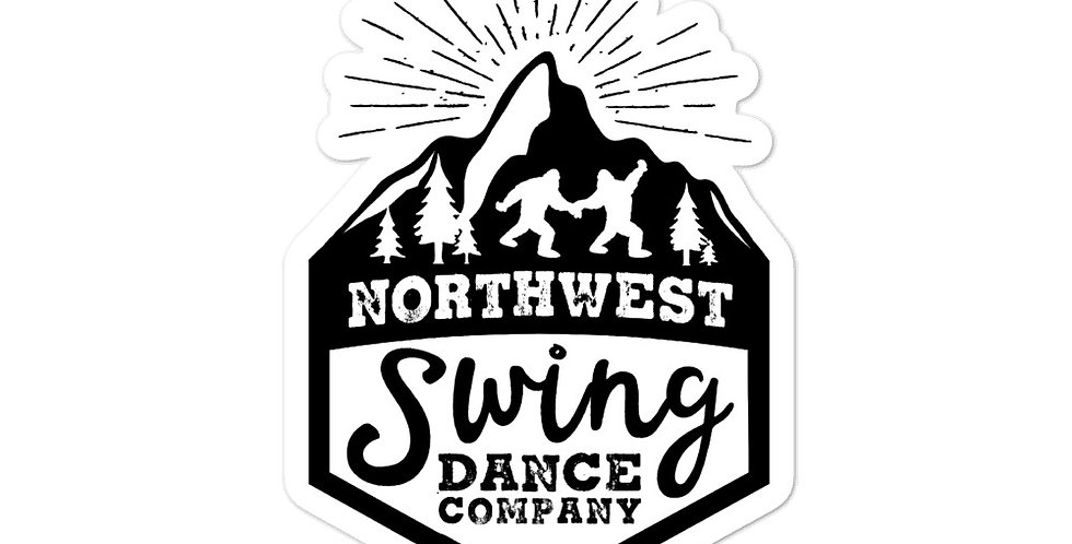 Northwest Swing Dance Co. Logo Sticker