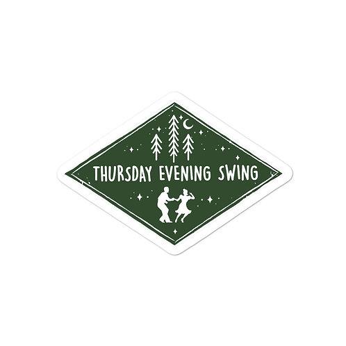 Thursday Evening Swing Sticker