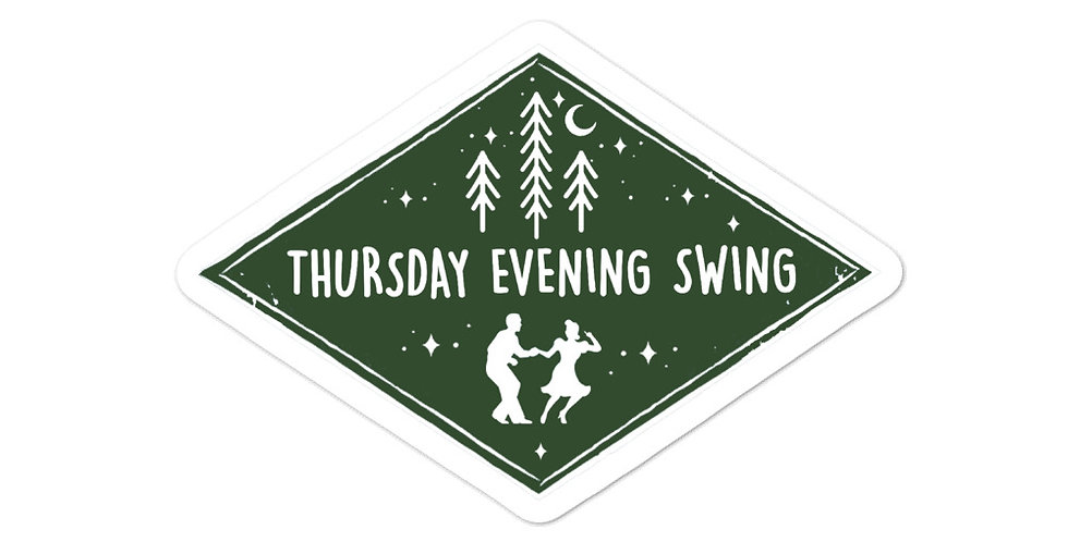 Thursday Evening Swing Sticker
