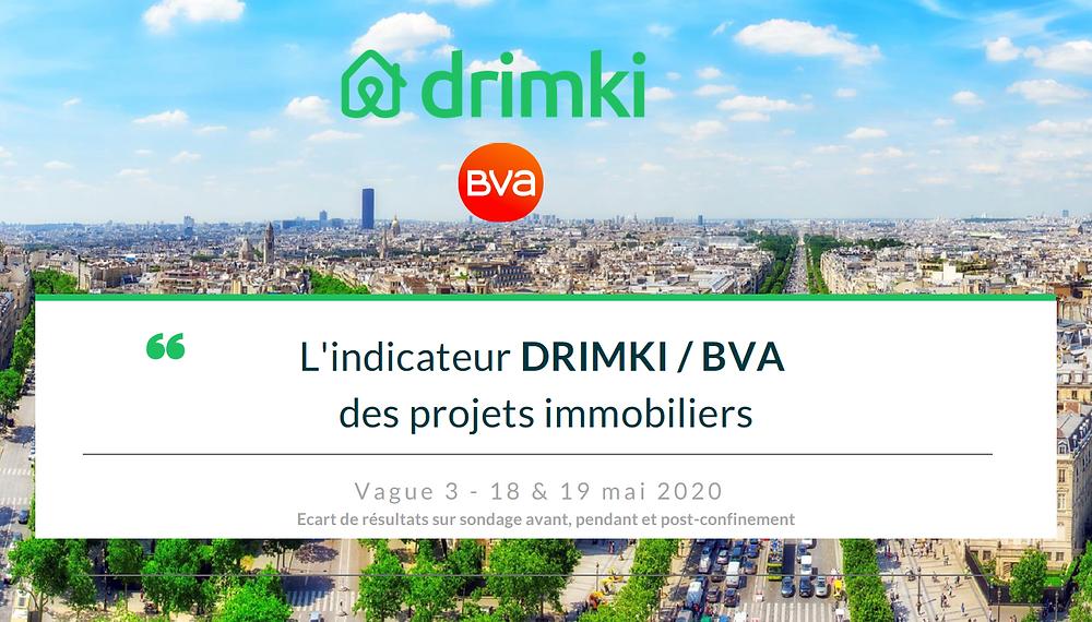 Etude projets immobiliers des Français réalisée fin mai 2020.