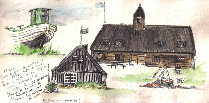 Casas balleneros Islandia