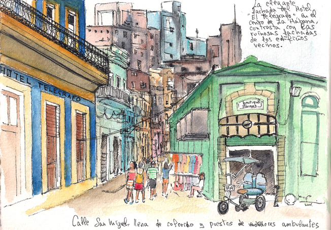 La Habana-Calle San Miguel