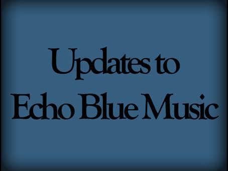 New Major Site Updates