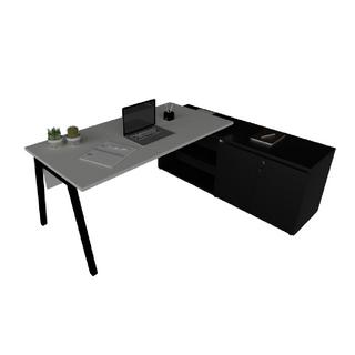 Mesa de Trabalho Indivídual com Meia Estrutura Cavalete 40 x 40 mm