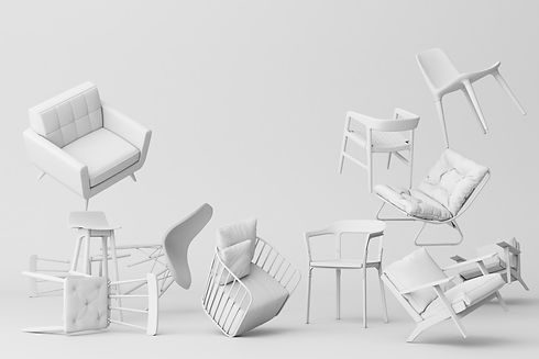white-chairs-empty-white-background-conc