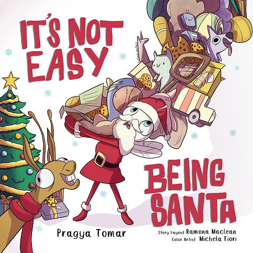 It's not easy being Santa!: A Christmas tale!
