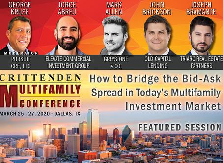 Crittenden Multifamily Panel (Dallas) March 25-27