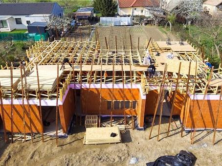 Lapostető szeglemezes tetőszerkezettel - Farkasd