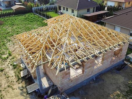 Kontytető szeglemezes tetőszerkezettel, Győrújbarát
