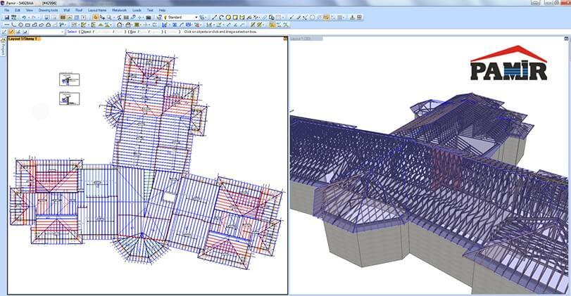 Szeglemezes tető tervezése a Pamir tervezőprogrammal